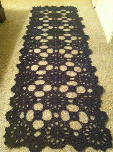 circular motif shawl made by marni