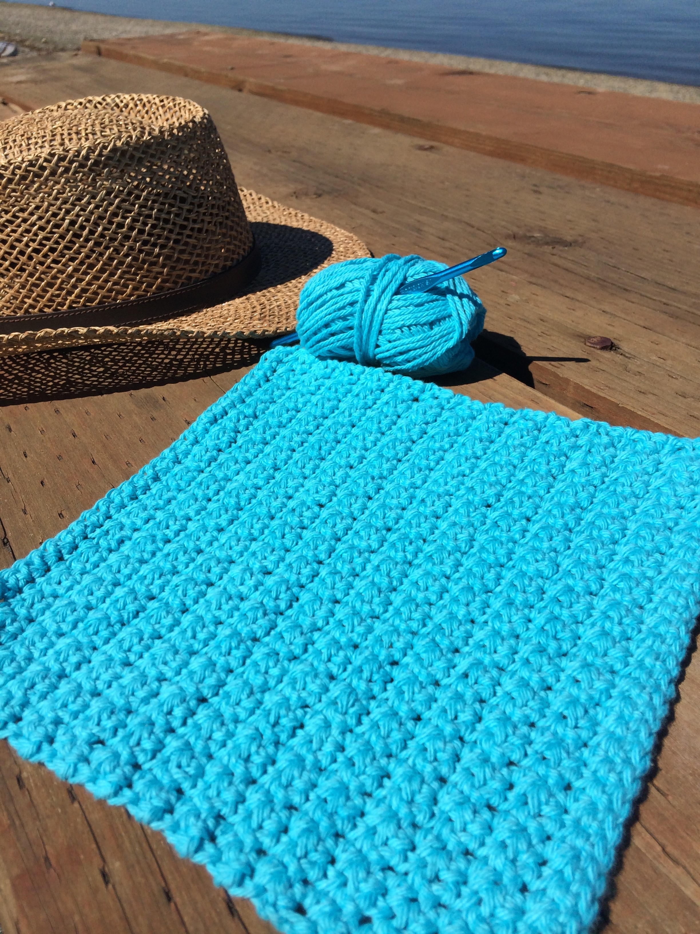 Super Simple Dishcloth