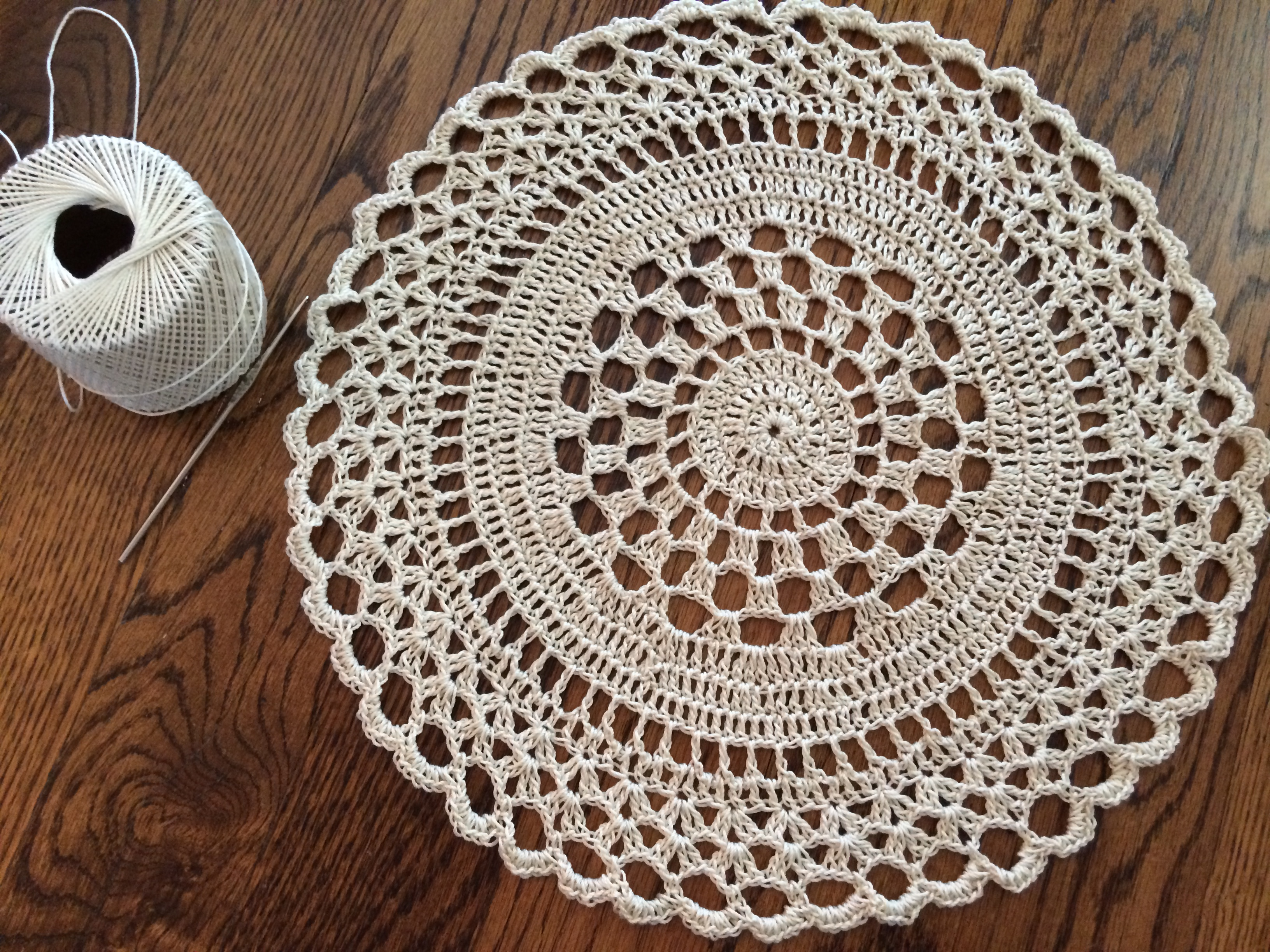 My Birthday Doily