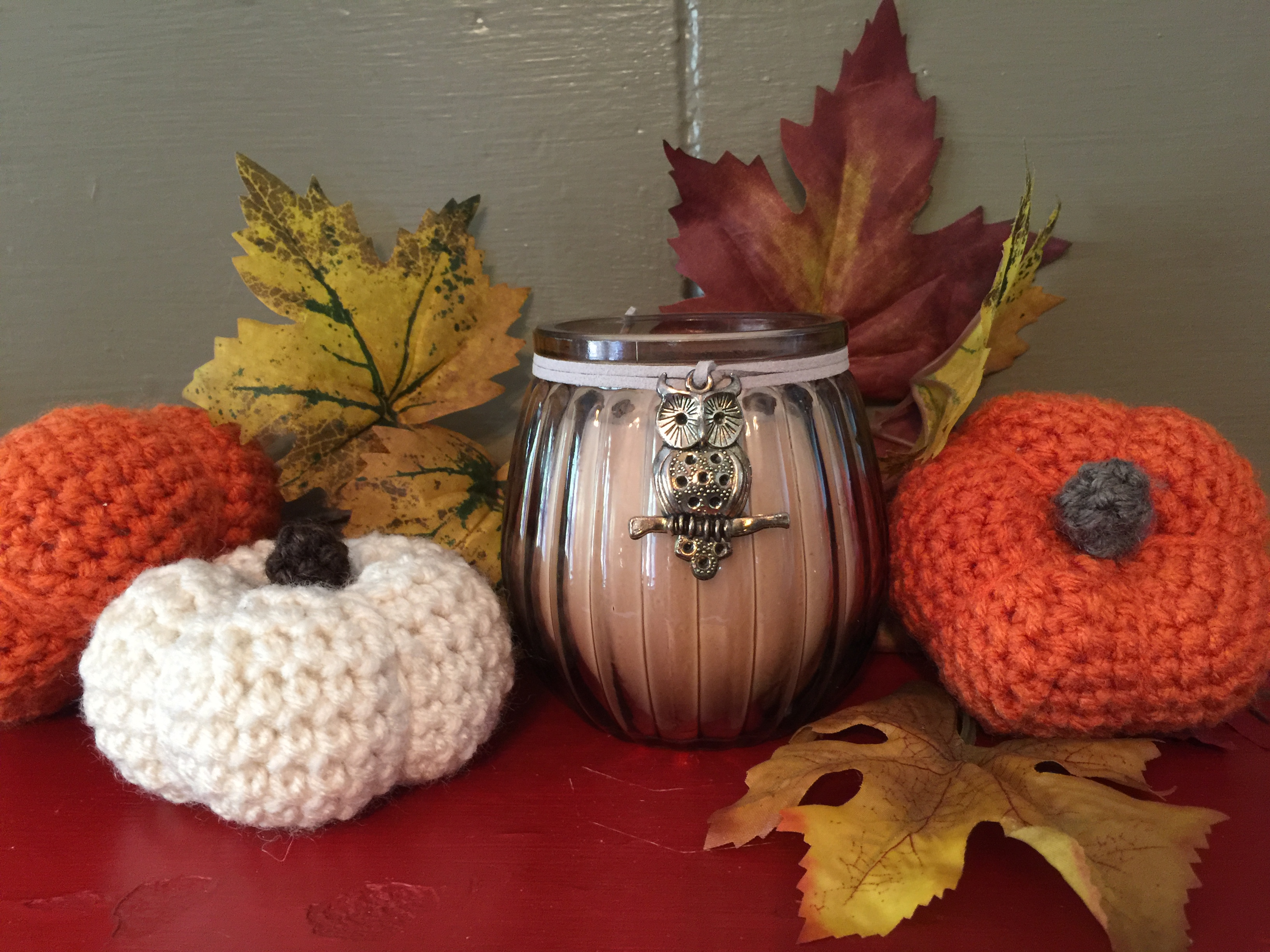 Little Crocheted Pumpkin