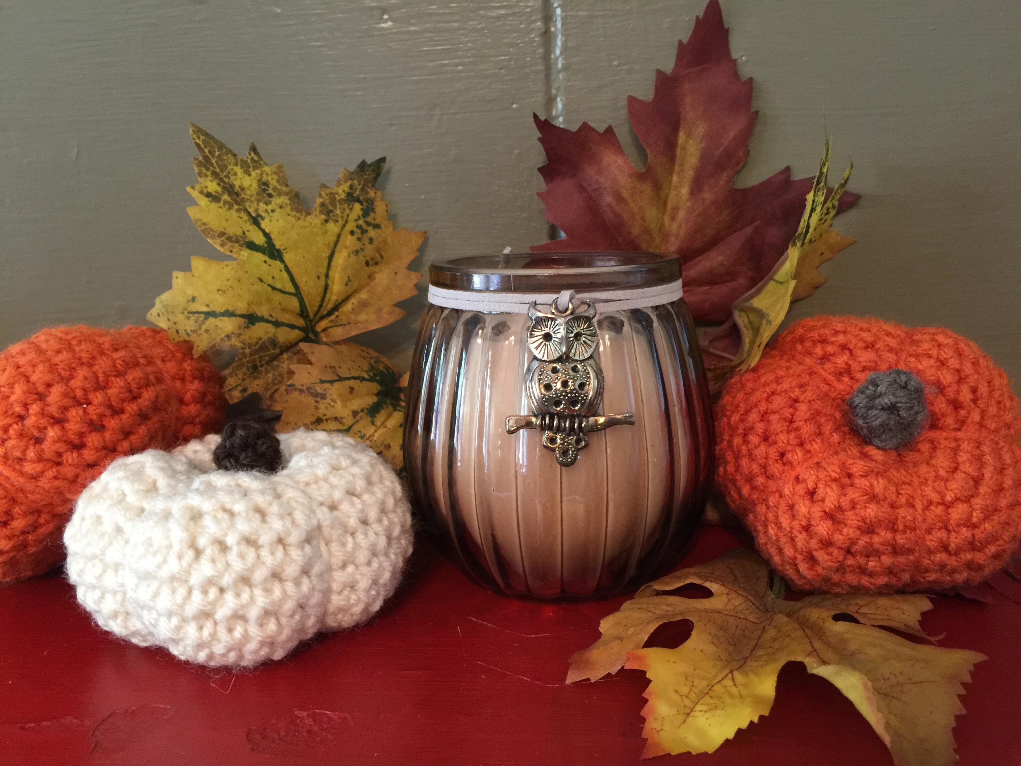 Little Crocheted Pumpkin