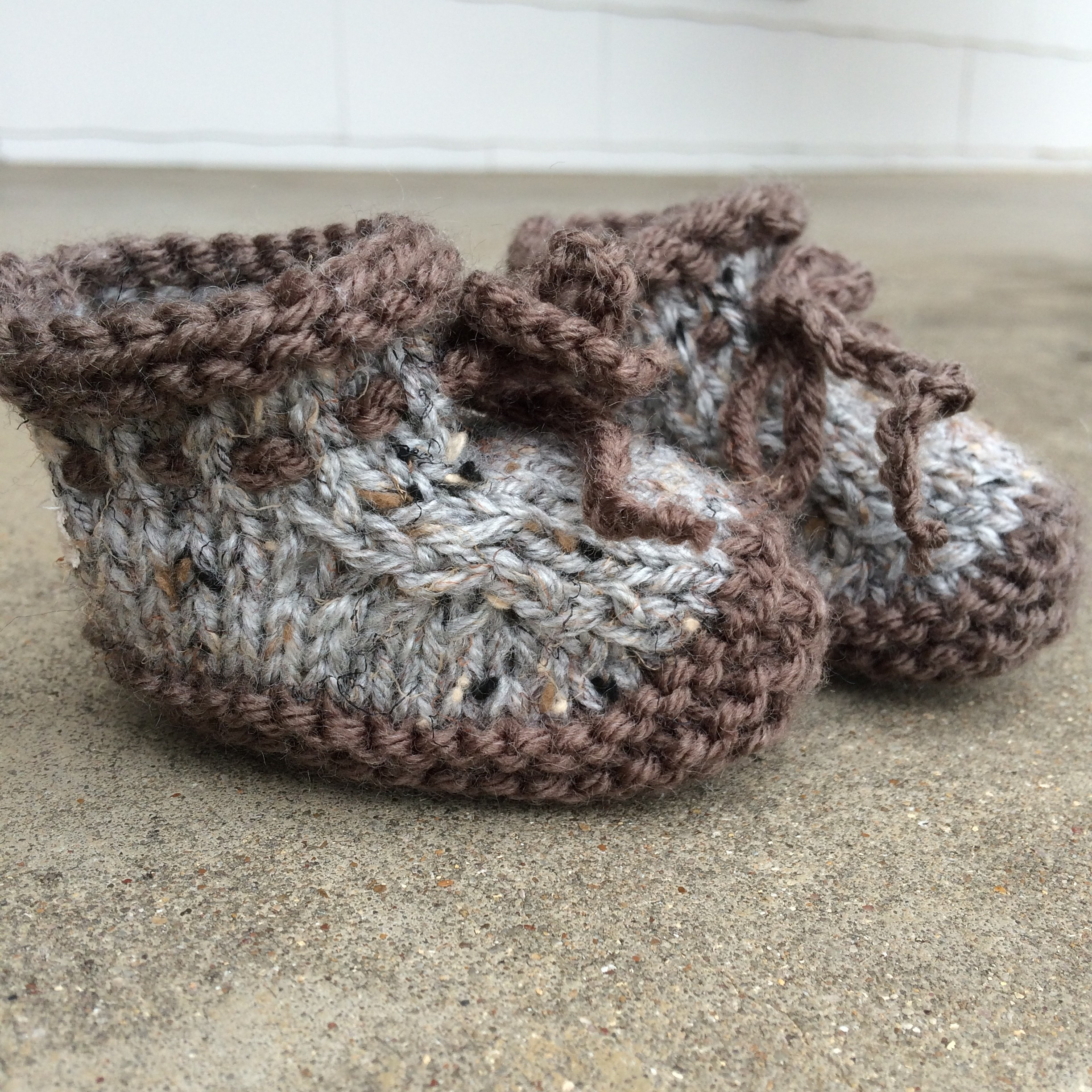 mbm Knitted Booties Pattern