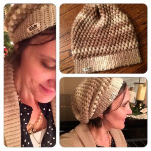 Urban Jungle Slouch Hat by Vickie Howell