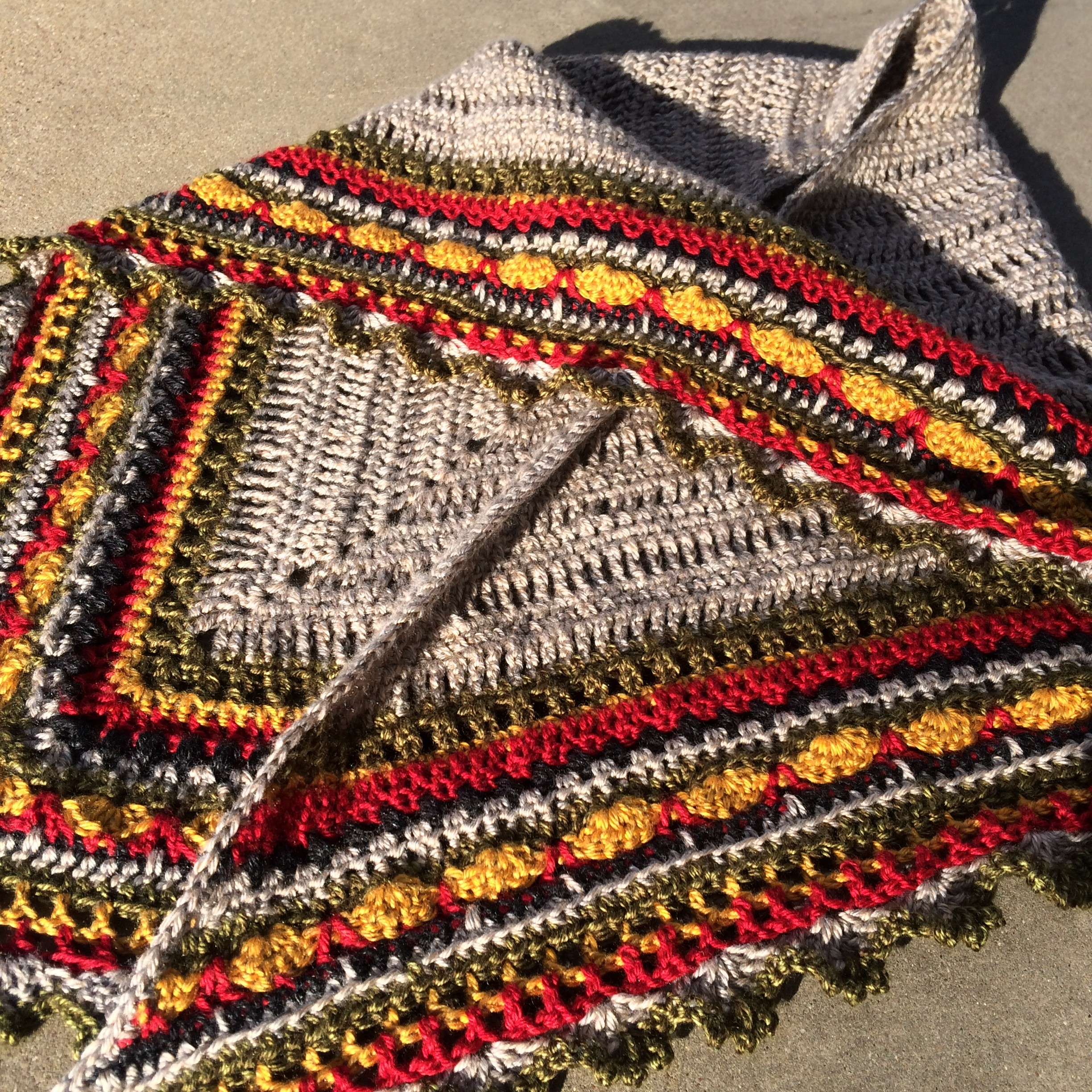 My Sunday Shawl | marni made it