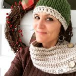 Simple Chunky Knit Hat made by marni