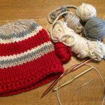 Leftover chunky yarn