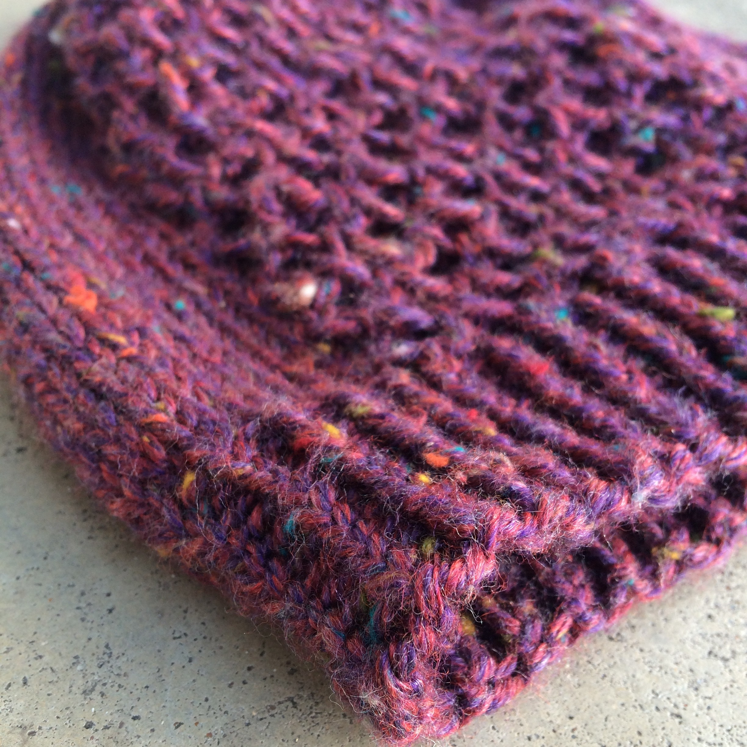 Knitting In The Heartland 2015 : Whiritoa knitted hat pattern marni made it