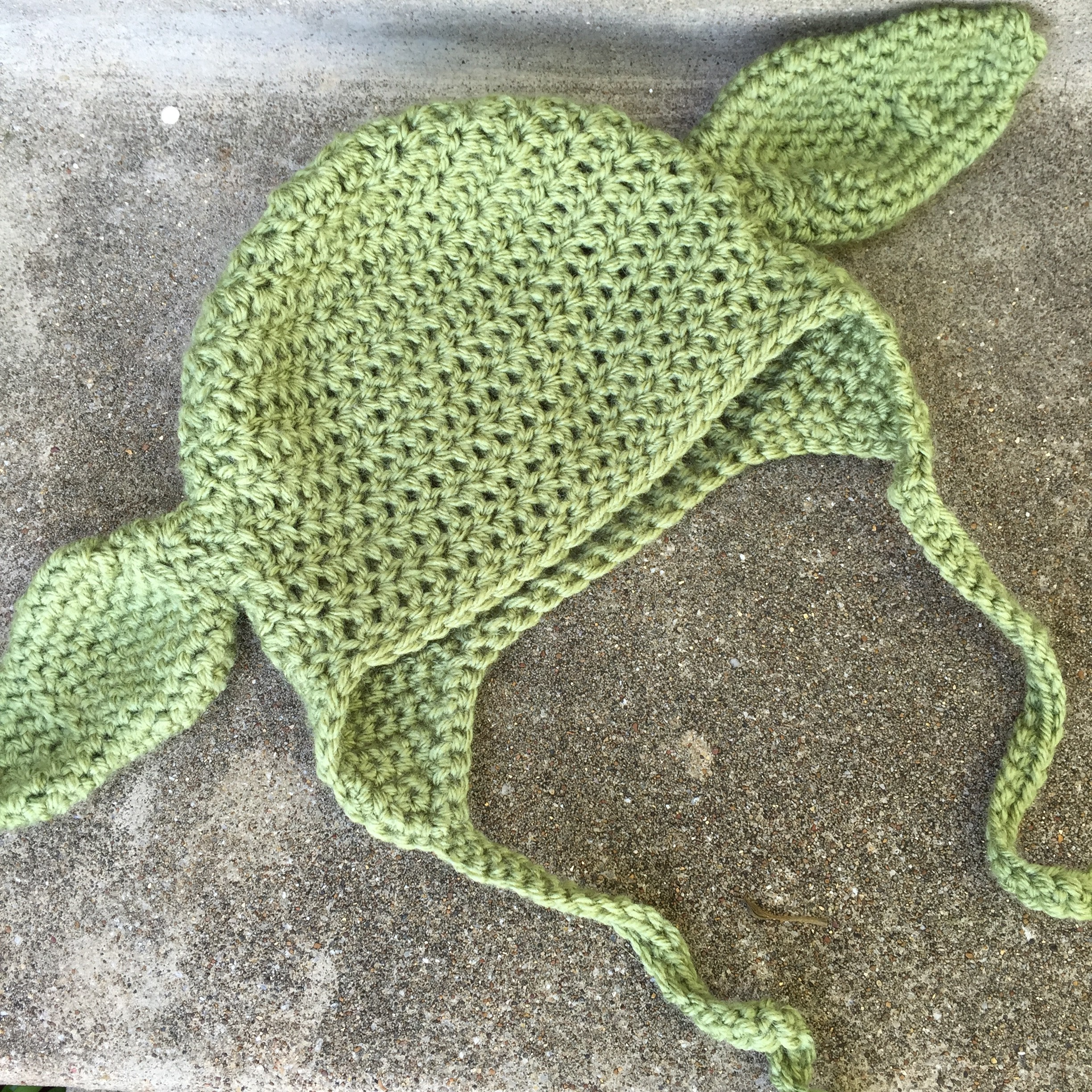 Crochet Yoda Pattern : Baby Yoda Hat Crochet Pattern - marni made it