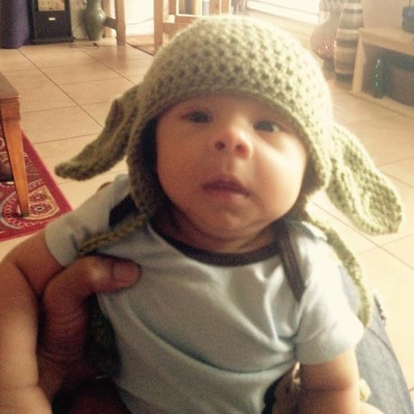 Baby Yoda Hat Crochet Pattern | marni made it
