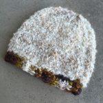 Chunky Knit Hat Pattern using Lion Brand Homespun yarn