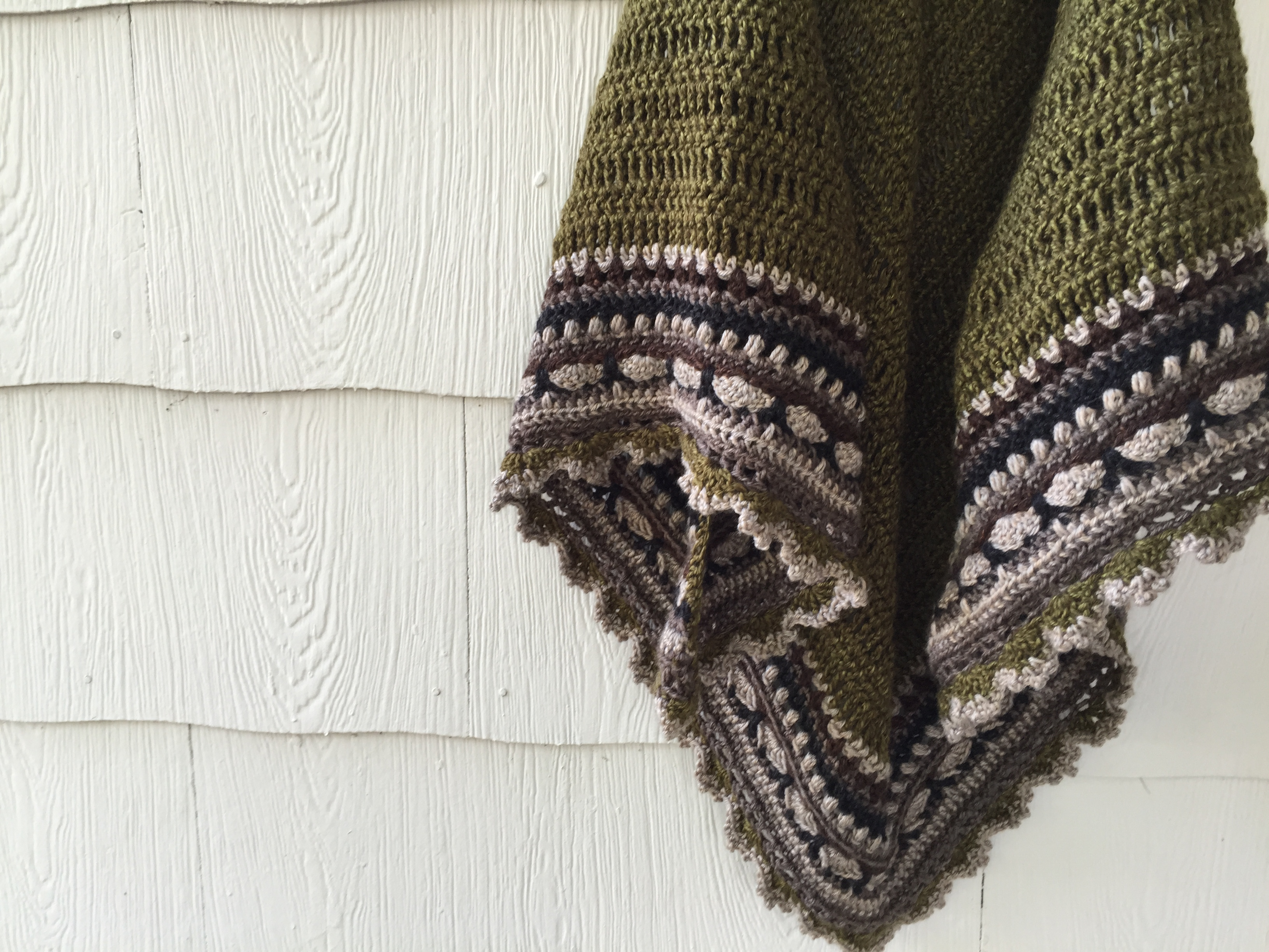 Camo Sunday Shawl