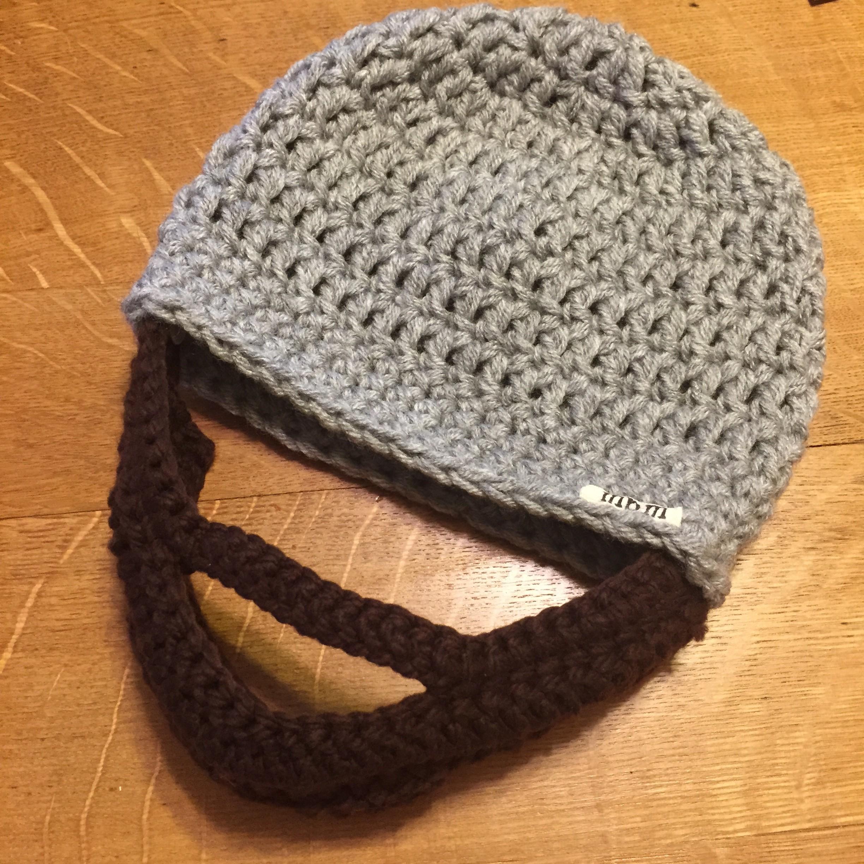 Adult Beard Hat Crochet Pattern Marni Made It