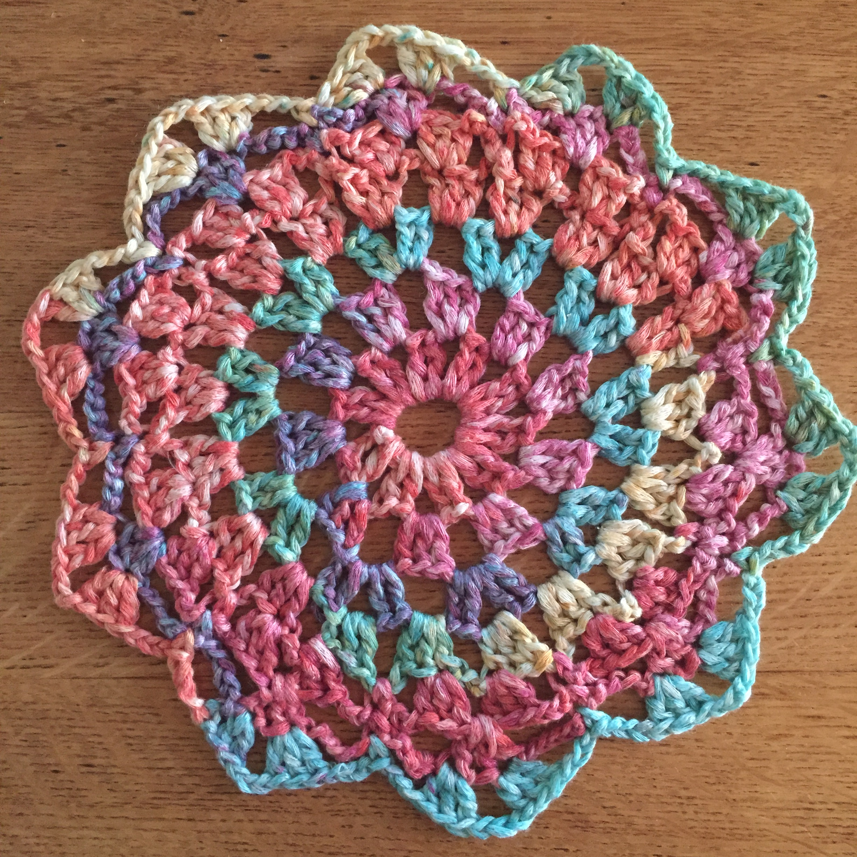 Crochet Patterns Dreamcatchers : Crocheted Dreamcatcher - marni made it