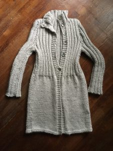 Great Lengths Coat Knitting Pattern