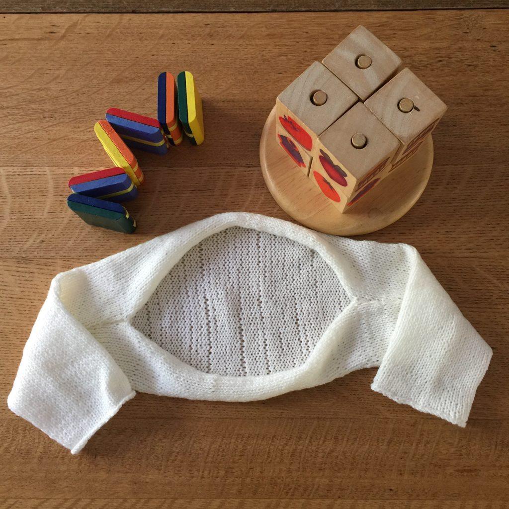 ad7898fa1 Simple Knit Baby Shrug