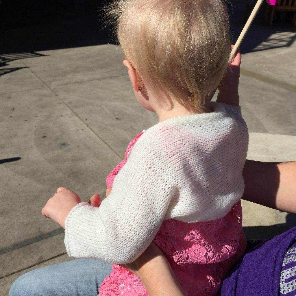 Simple Knit Baby Shrug Free Knitting Pattern