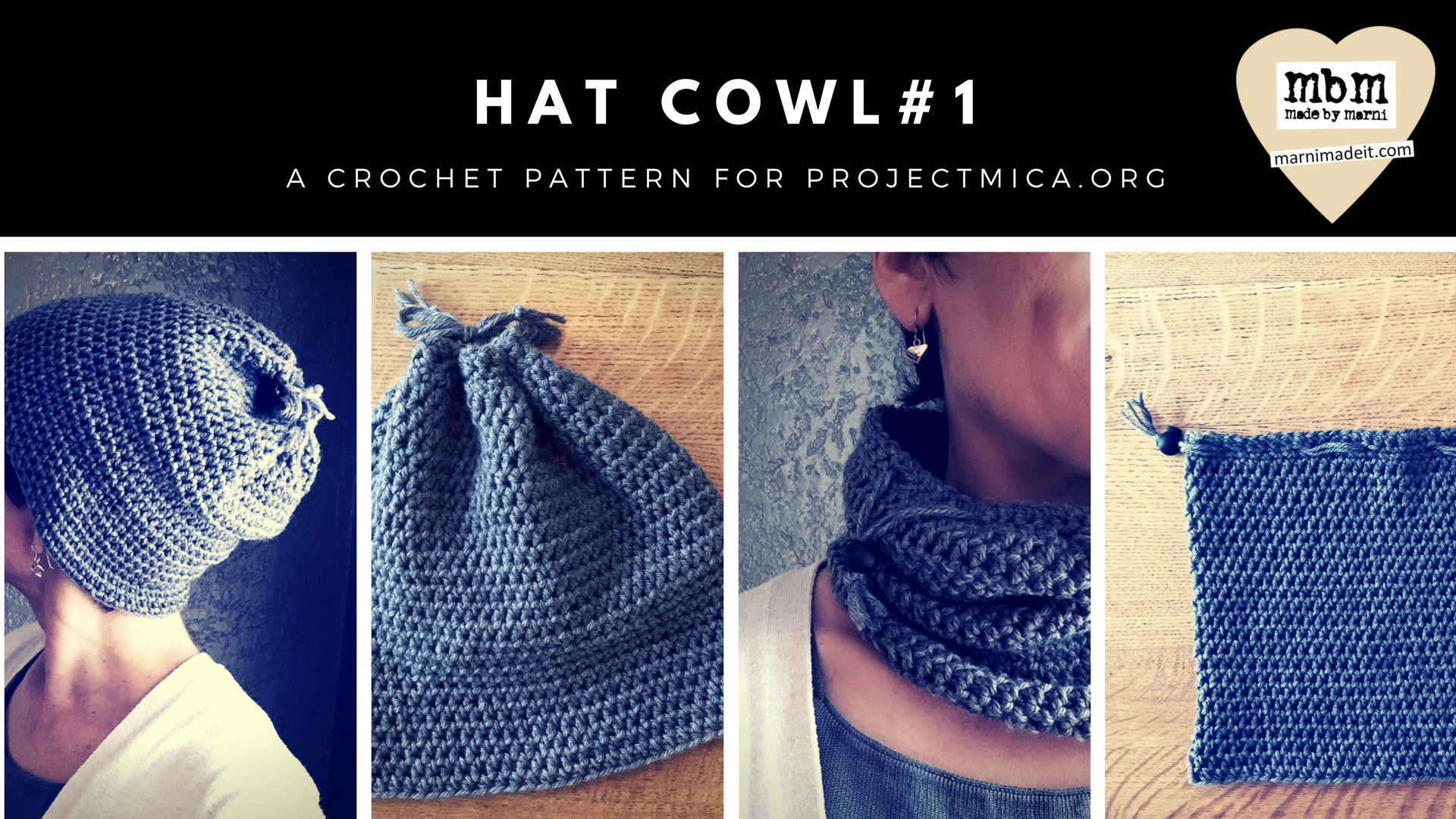 Hat Cowl #1 for projectMICA.org