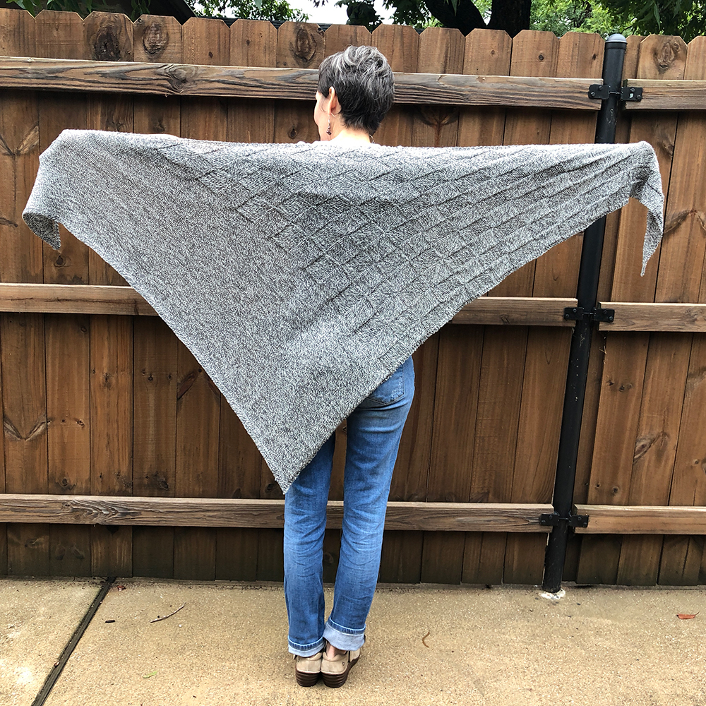 Daxis Knitted Shawl