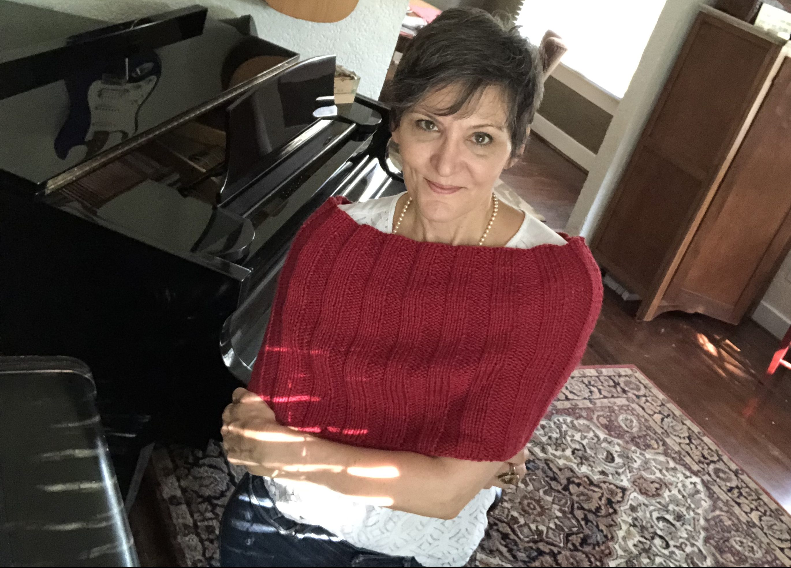 Free Knitting Pattern – Easy Does It Capelet or Cowl