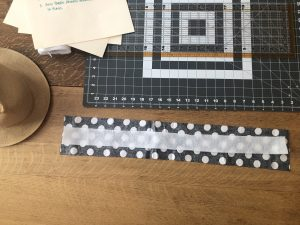 measure fabric and interfacing